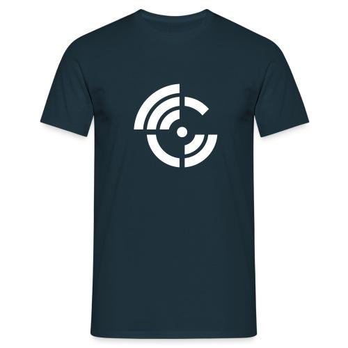 electroradio.fm logo - Men's T-Shirt