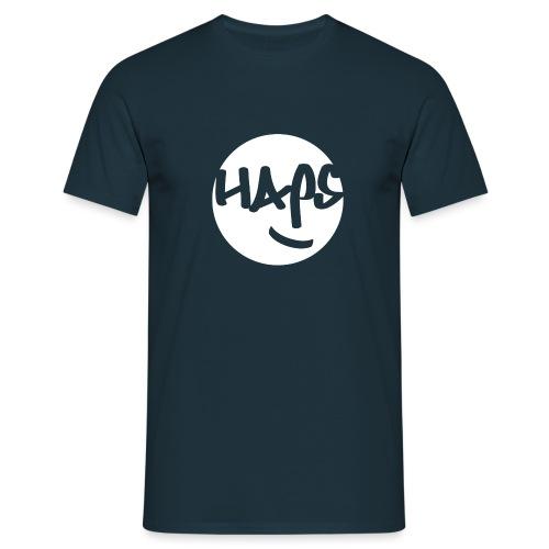 HAPS White Logo - Men's T-Shirt