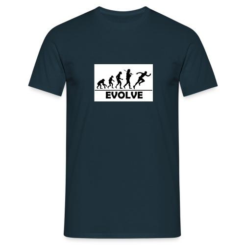 EVOLVE - Mannen T-shirt
