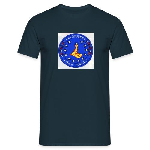 Kentucky Seal Color jpg - Männer T-Shirt