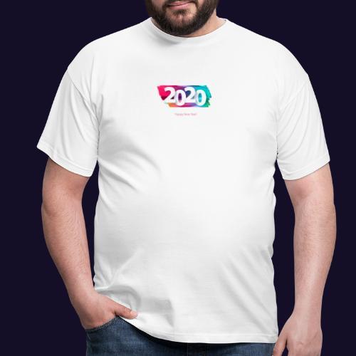 Happy new year 2020 - Männer T-Shirt