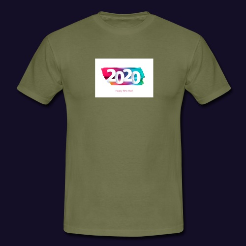 Happy new year 2020 - Männer T-Shirt