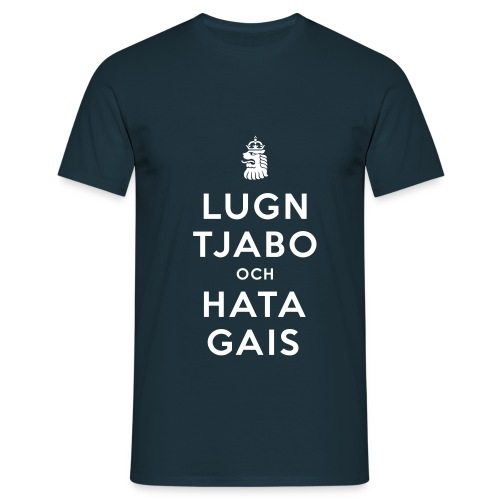 Lugn tjabo - T-shirt herr