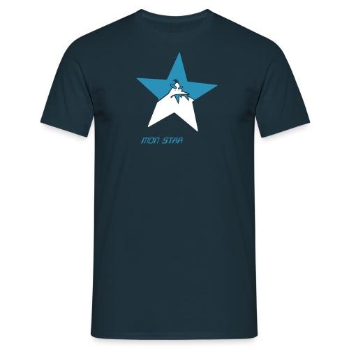 mon STAR monster - Männer T-Shirt