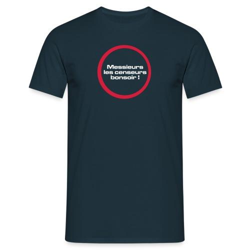 messieurs_les_censeurs - T-shirt Homme