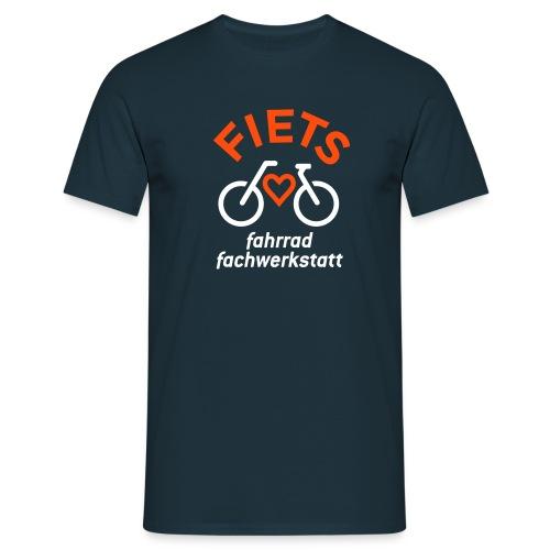 FIETS logo rond CMYK - Männer T-Shirt