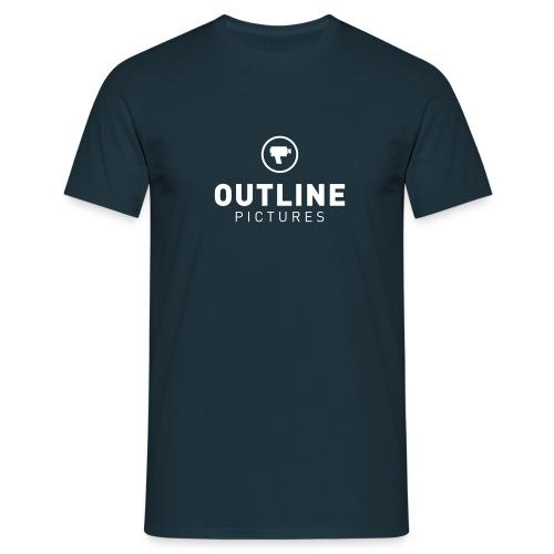 OutlinePictures logo2007 NEG - Männer T-Shirt
