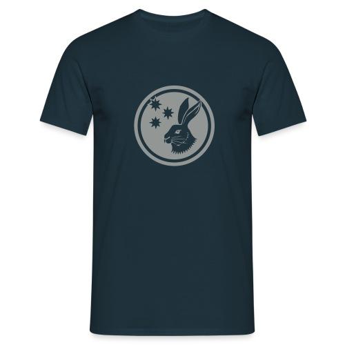 Reilinger Hase im Kreis - Männer T-Shirt