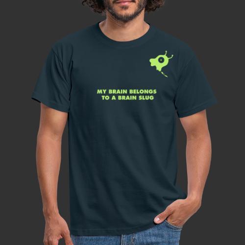 geek brainslug2 ny - T-shirt herr