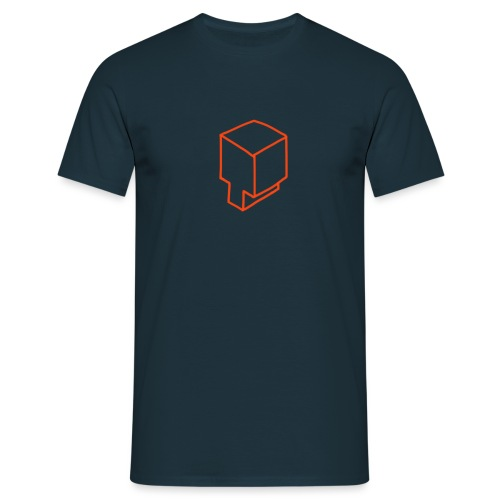 Simple Box T - Men's T-Shirt