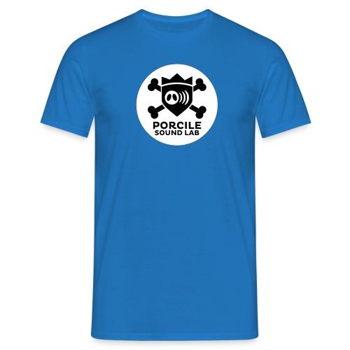logo porcile sound lab BN - Men's T-Shirt