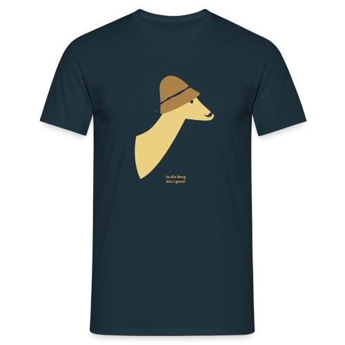 In die Berg bin i gern! - Männer T-Shirt