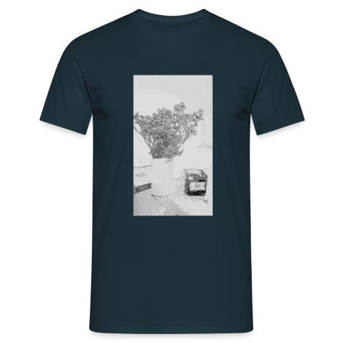 Blumen Stillleben - Männer T-Shirt