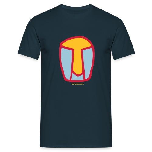 kopf abstrakt - Männer T-Shirt