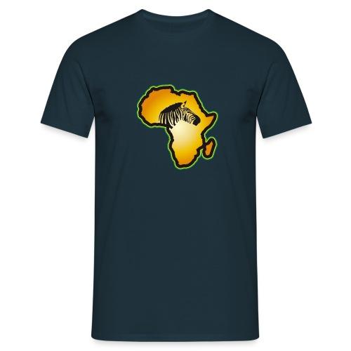 Afrikas Tierwelt Zebras Wildlife Safari Savanne - Men's T-Shirt