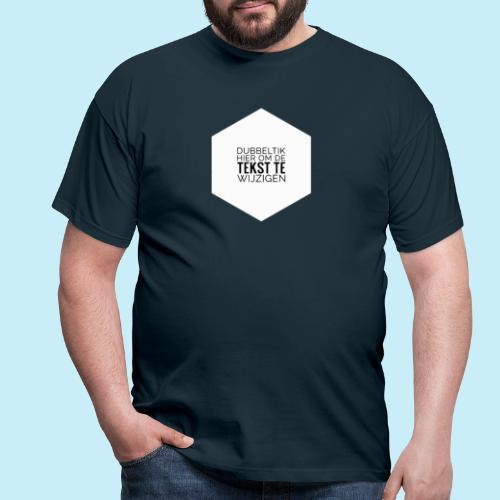 dubbeltik hier om tekst te wijzigen. - T-shirt Homme