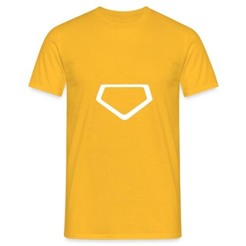Baseball Homeplate Outline - Men's T-Shirt
