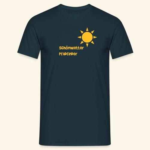 Schönwetterpadfinder - Männer T-Shirt