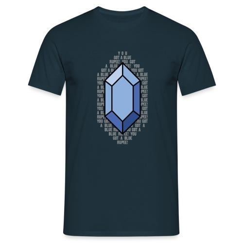 bluerupee - Men's T-Shirt
