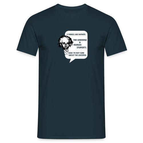 Human Stupidity - Men's T-Shirt