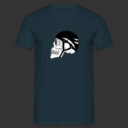 Bergsteigerskull - Männer T-Shirt