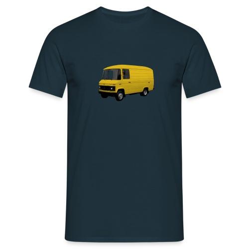 508 geel driekwart - Mannen T-shirt