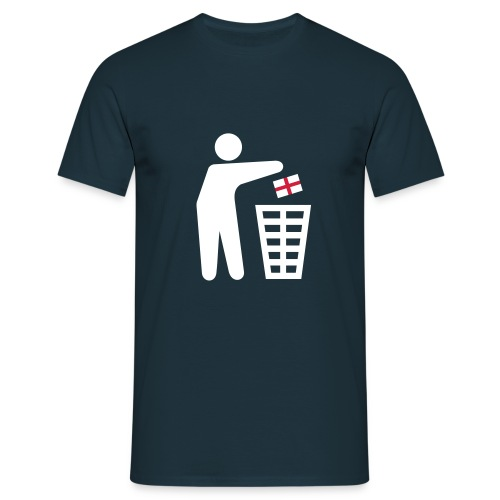 Keep Tidy England - Men's T-Shirt