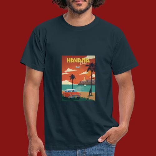 cuba - T-skjorte for menn