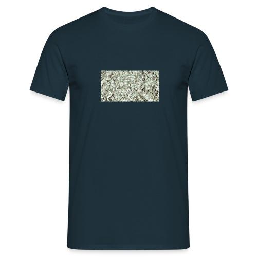 cash on my shirt - Koszulka męska