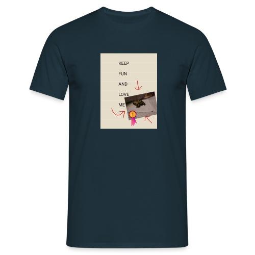 Keep fun and love me - Miesten t-paita