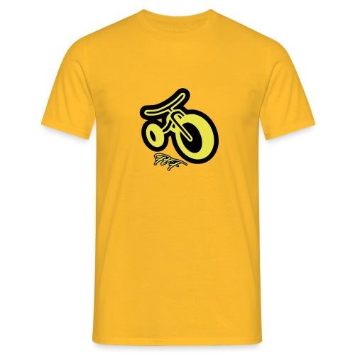 3CYCLE yellow - Maglietta da uomo