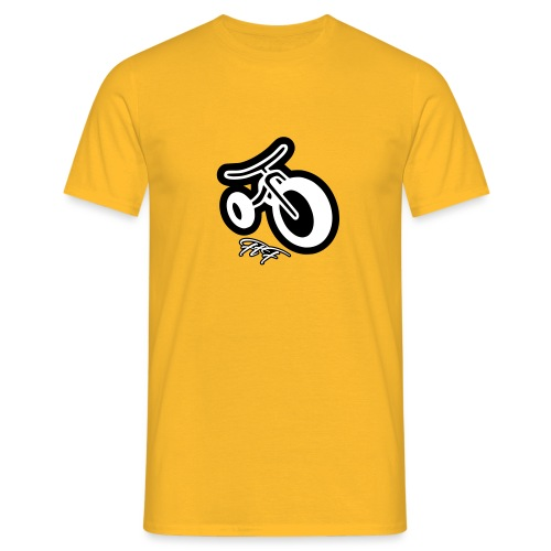 3cycle FTF white - Maglietta da uomo