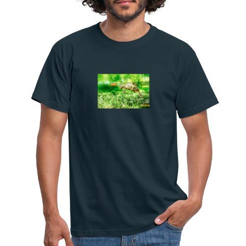 Żołw aportujący frisbee - Koszulka męska