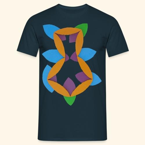 oranjeblanjebleu - Mannen T-shirt