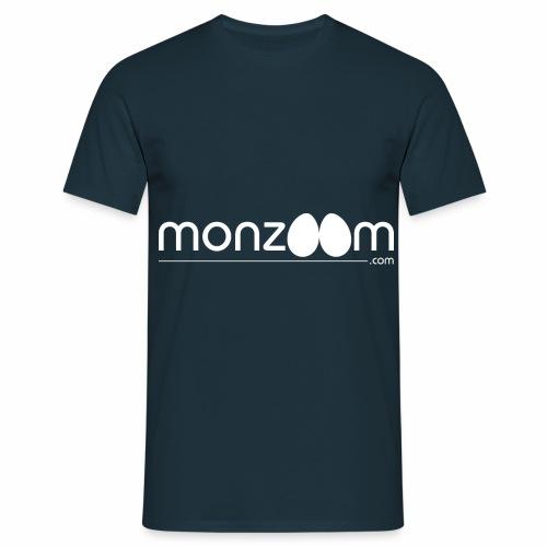 monzoom.com easter white - Men's T-Shirt
