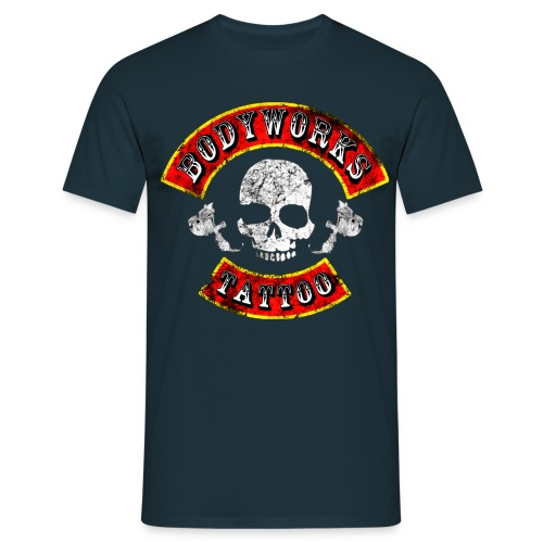 bodyworks tattoo shirt aufdruck02 - Männer T-Shirt