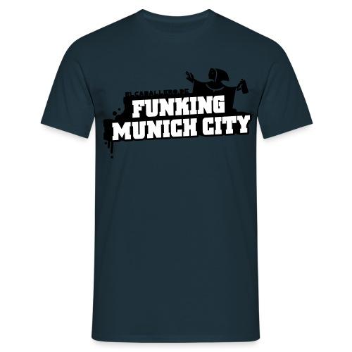 Funking Munich City - Männer T-Shirt