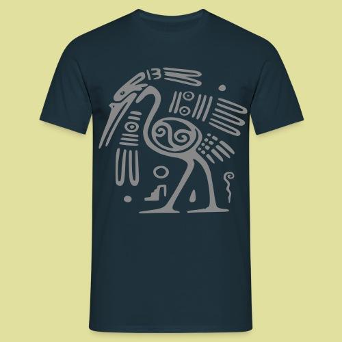 ostrich vogel - Männer T-Shirt