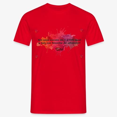 Versinho cmyk - Men's T-Shirt