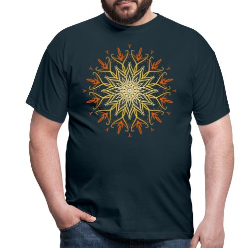 Mandala of fire - Men's T-Shirt
