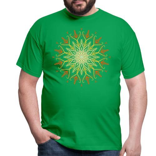 Mandala of fire - Men's T-Shirt