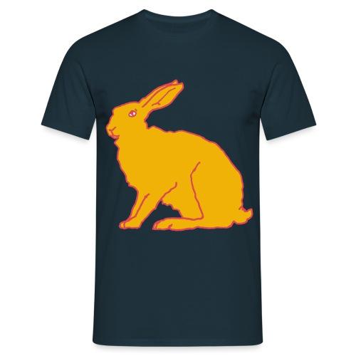 Gelber Hase - Männer T-Shirt