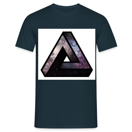 triangle espace - T-shirt Homme