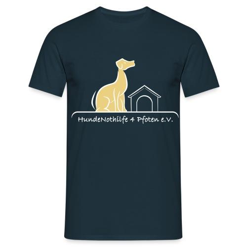 HundeNothilfe Logo - Männer T-Shirt