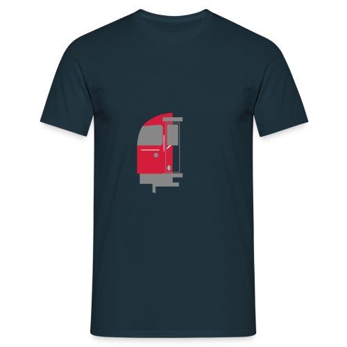 tube train - Men's T-Shirt