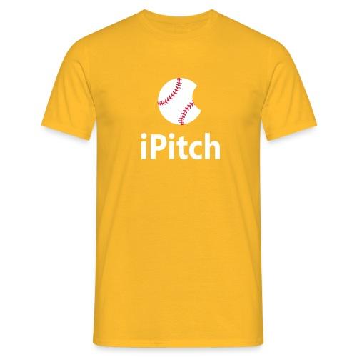 Baseball Logo iPitch - Men's T-Shirt