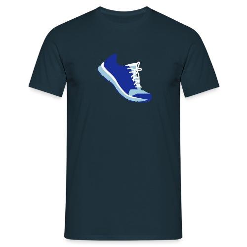 Laufschuh - Männer T-Shirt