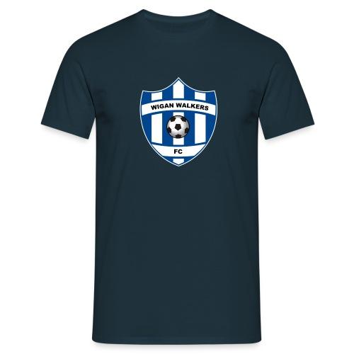 1 badge F4 WIGAN WALKERS - Men's T-Shirt
