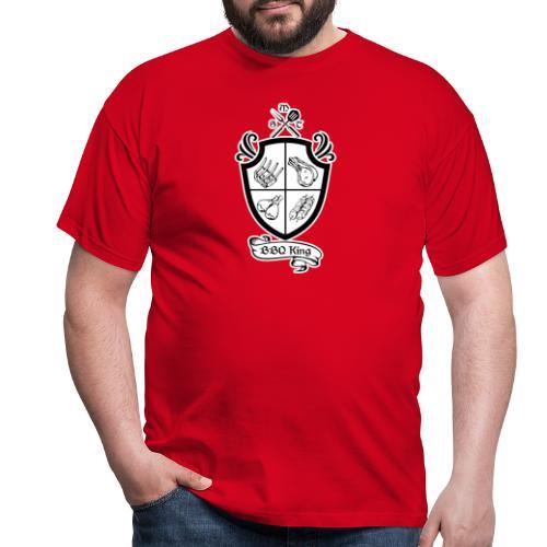 BBQ King - Maglietta da uomo