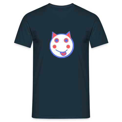 Red White And Blue - Alf Da Cat - Men's T-Shirt